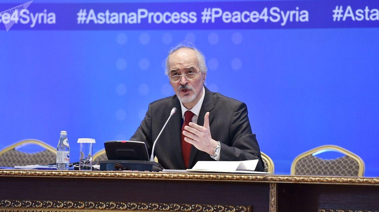 Постоянный представитель Сирии при ООН и глава делегации правительства Сирии Башар Джафари