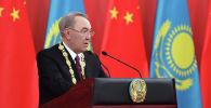 Нурсултан Назарбаев награжден Орденом Дружбы Китайской Народной Республики