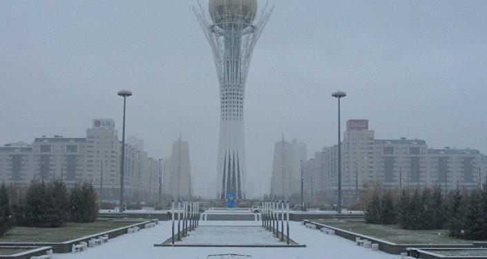 Из-за метели закрыты дороги вчетырёх областях Казахстана