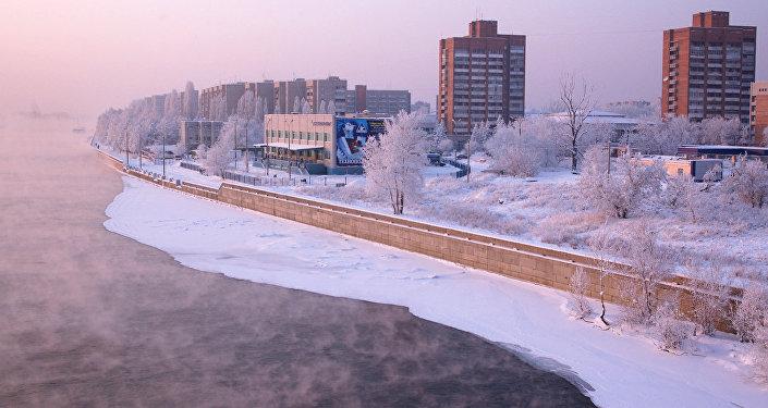 Усть-Каменогорск, архивное фото