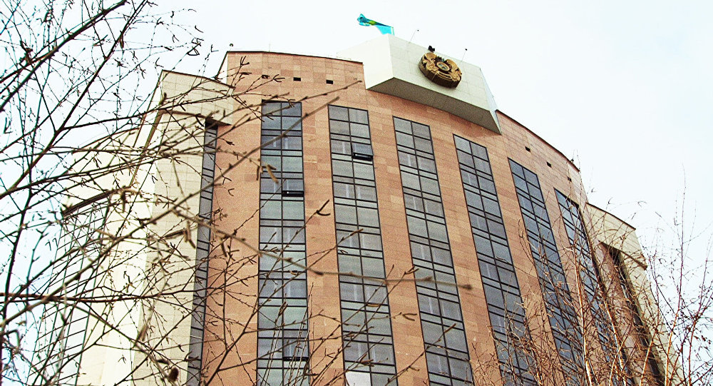 Министерство внутренних дел Казахстана. Архивное фото