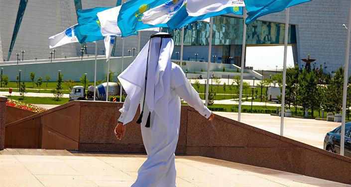 Съезд лидеров мировых и традиционных религий, сюжет