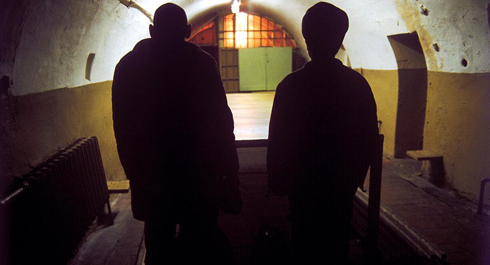 Архивное фото заключенного