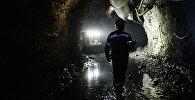 Кен орнындағы шахтер, архивтегі сурет