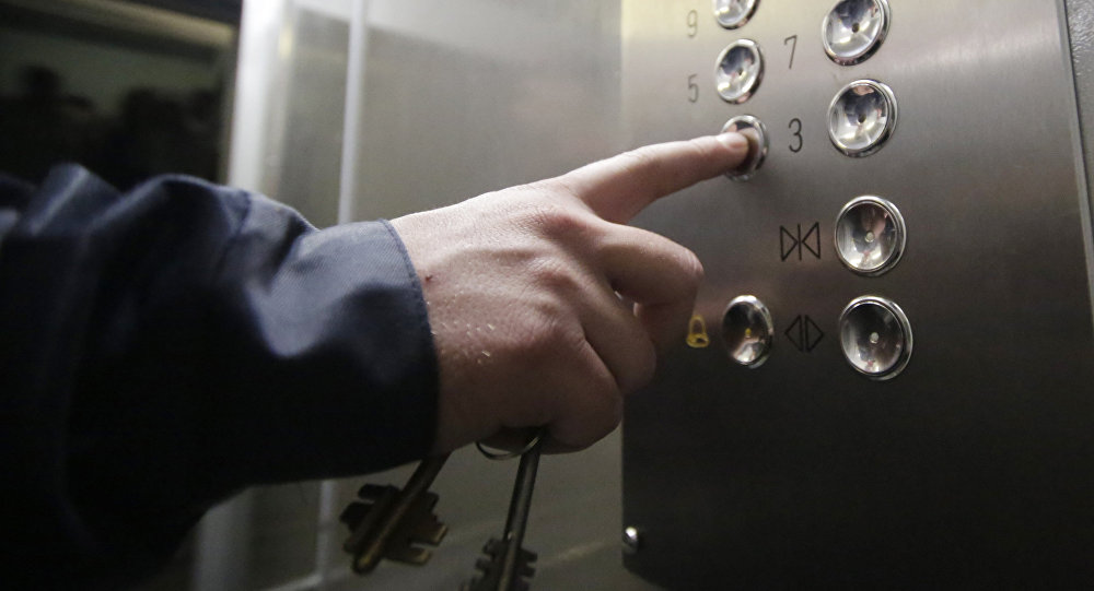 Лифт, архивное фото
