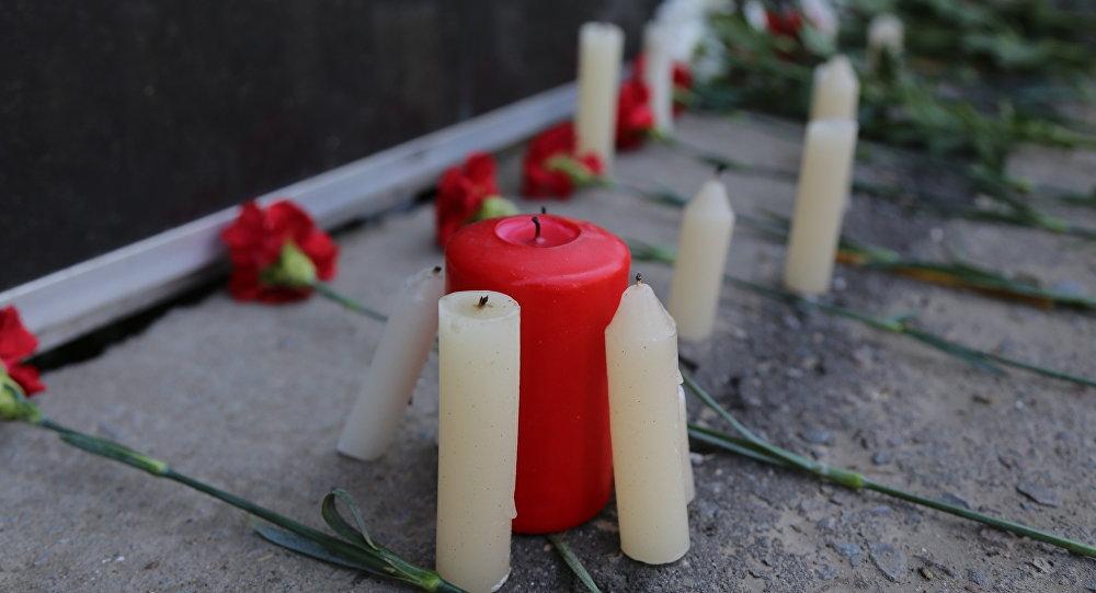 Траур по погибшим в результате теракта в Актобе