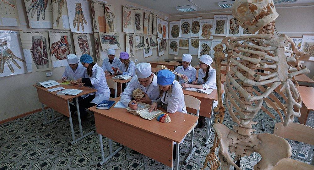 Медицинский университет. Архивное фото