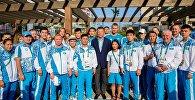Президент НОК РК Тимур Кулибаев встретился с казахстанскими спортсменами в Рио-де-Жанейро