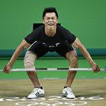Пан Чиен-Хунг Тяжелая атлетика, Олимпиада 2016