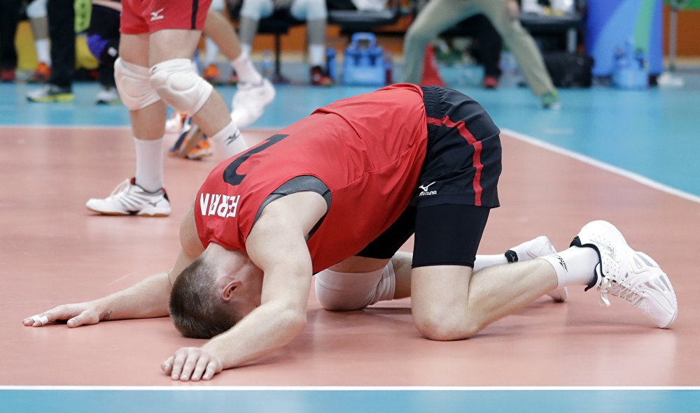Канадский волейболист Джон Гордон Перрин. Олимпиада в Рио.
