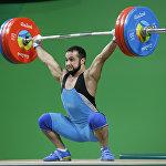 Казахстанский тяжелоатлет Ниджат Рахимов. Олимпиада в Рио.