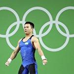 Казахстанский тяжелоатлет Фархад Харки стал бронзовым призером Олимпиады в Рио-де-Жанейро