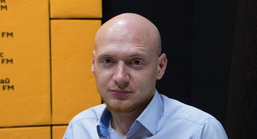Заведующий отделением реанимации Центра скорой медицинской помощи Бишкека Егор Борисов