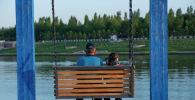 Астанчане отдыхают на берегу реки Есиль