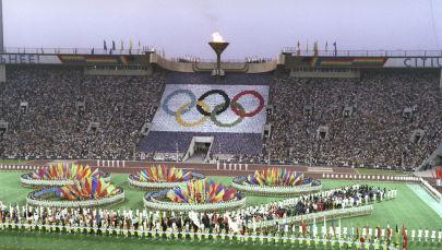 Олимпийский огонь, Москва, 1980 год