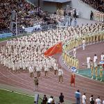 Сборная команда Советского Союза на Олимпиаде в Москве
