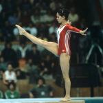 Нелли Ким на Олимпиаде-80