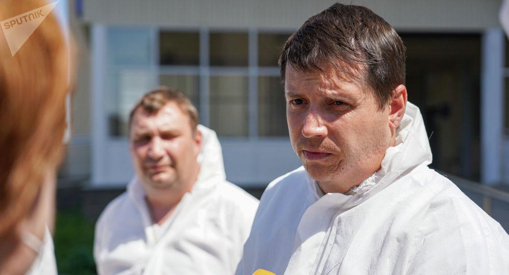 Пульмонолог из России Евгений Попов
