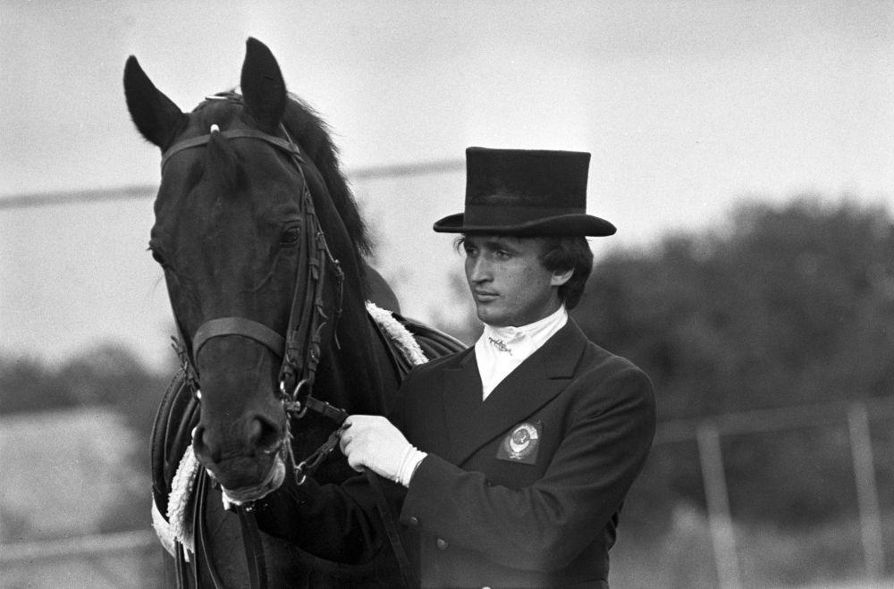 Юрий Ковшов, олимпийский чемпион (конный спорт), победитель Кубка СССР 1983г. по выездке.