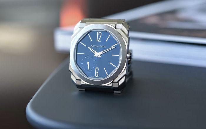Bvlgari представили обновленную модель мужских часов Octo Finissimo