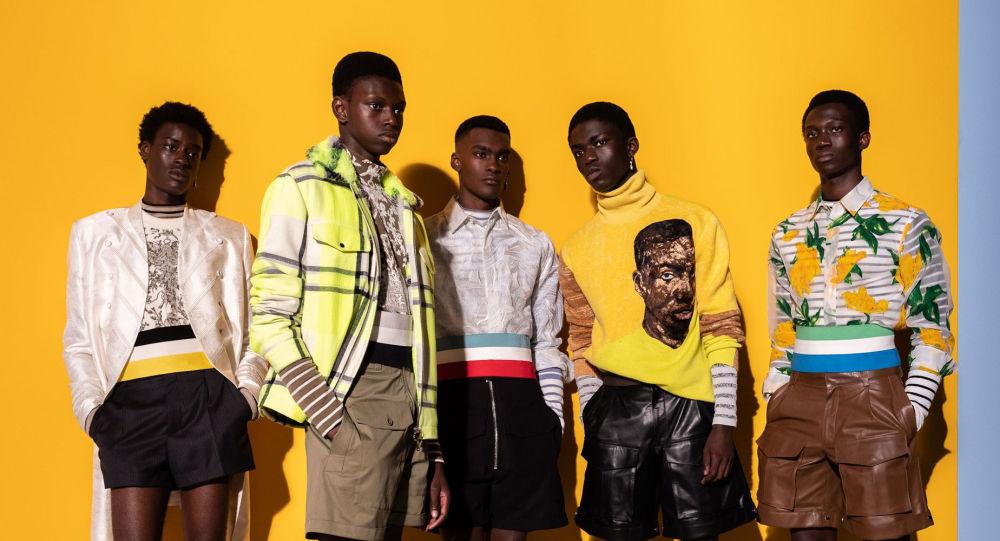 Dior для мужчин. Африканские страсти