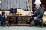 Асқар Мамин мен Александр Лукашенко, Минск