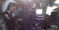 Экипажи самолетов ТУ-22М3 отработали пуски ракет по целям в Баренцевом море