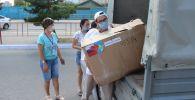 Добро соседство: гуманитарный груз из Екатеринбурга прибыл в РК