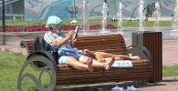 Карантинное лето 2020: астанчане остались без пляжа и бассейна, но гуляют в парке – видео