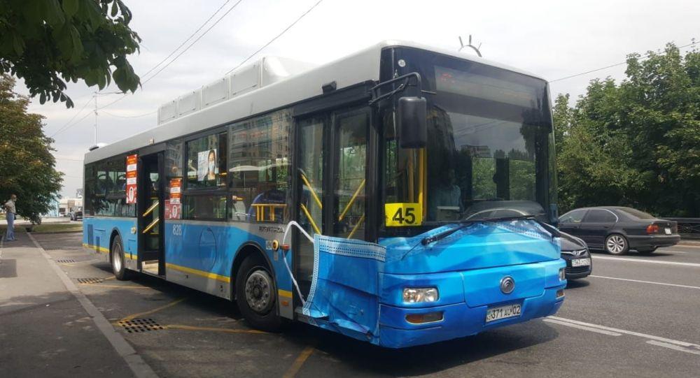 Автобус, маска