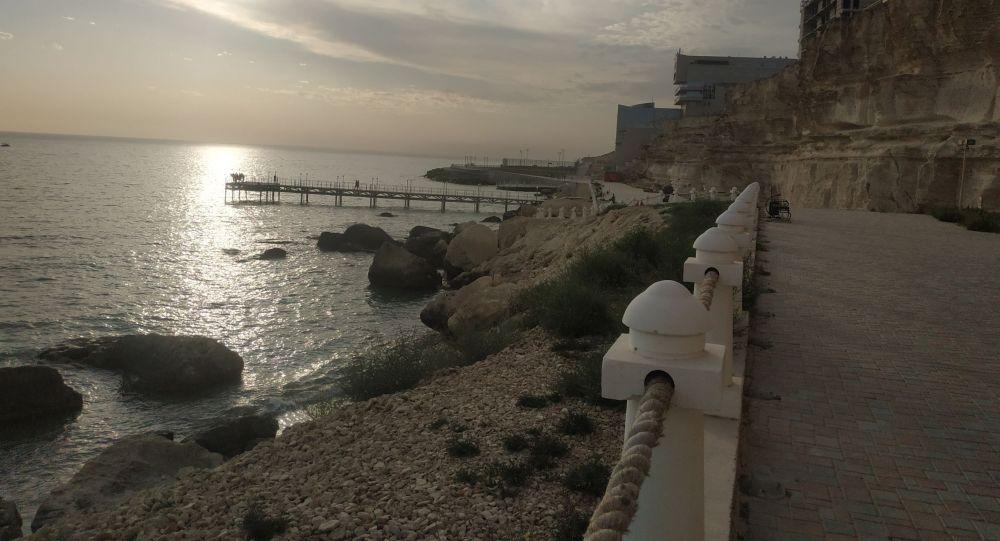 Каспий теңізінің жағасы