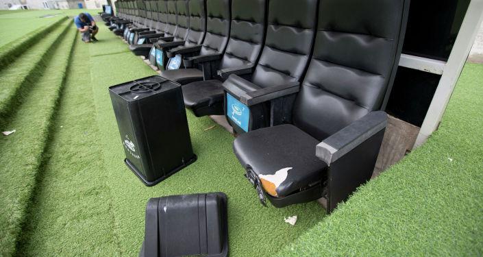 Главная арена Олимпиады в Рио -  стадион Маракана - был разрушен вандалами после того, как накопил миллиардные долги за коммунальные услуги