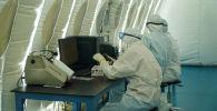 Модульная лаборатория в спорткомплексе Казахстан в Нур-Султане