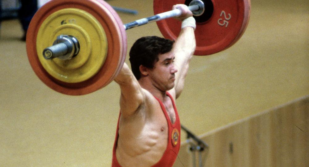 Виктор Мазин на Олимпиаде в Москве