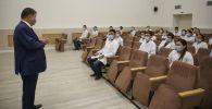 Молодые врачи на встрече с акимом Атырауской области