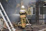 Пожар в селе Абай