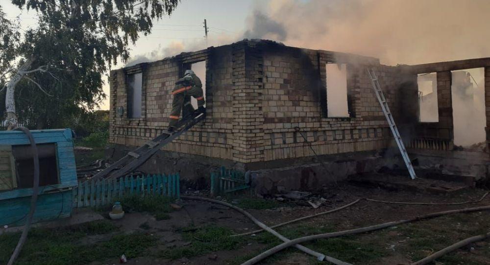 Пожар в Атбасарском районе: погибли трое детей