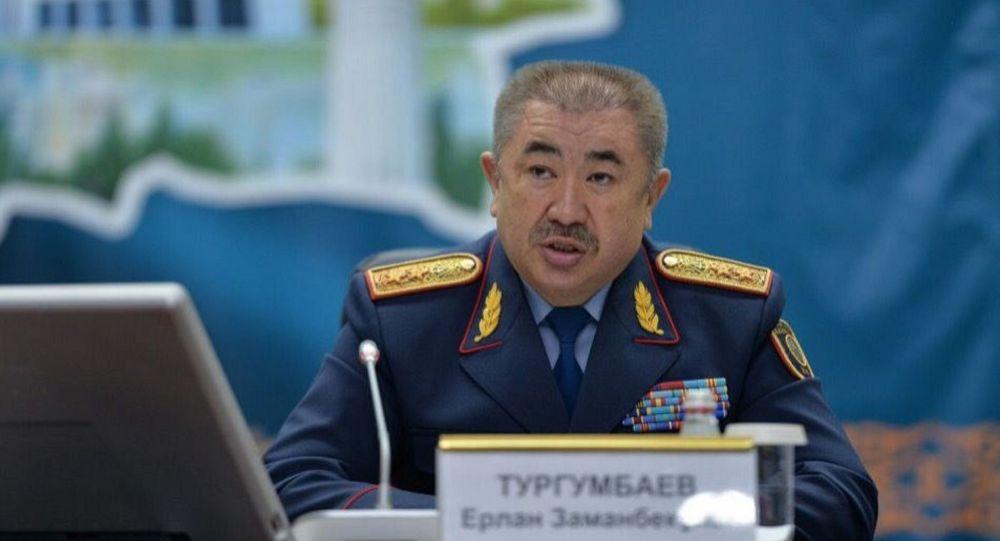 Министр внутренних дел Казахстана Ерлан Тургумбаев