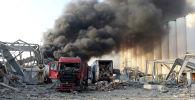 Мощный взрыв произошел в Бейруте