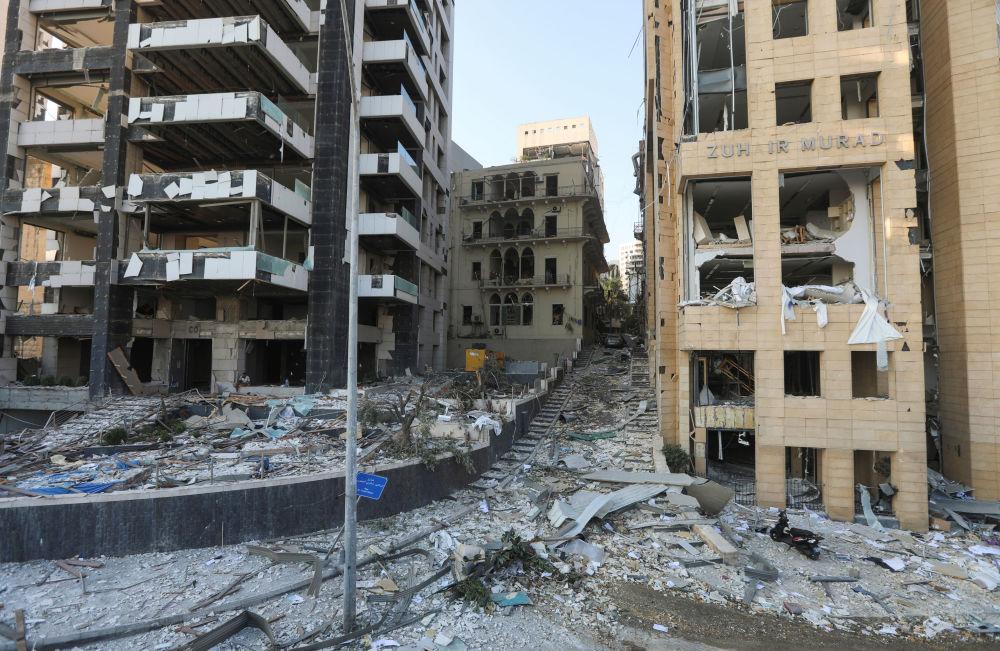 Жергілікті тұрғындардың айтуынша, қазіргі жағдайды бомбалаудан кейінгі қала деп сипаттауға болады.