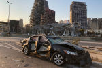 Бейруттегі жарылыс салдары