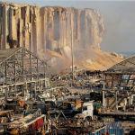 Бейруттағы порт аймағы толықтай жойылып, үйіндіге айналды деп айтуға болады. Бұл жағдай қала мен елдің экономикасына қалай әсер ететінін уақыт көрсетеді.