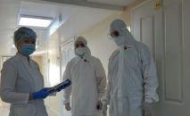 Российские военные медики прибыли в Казахстан