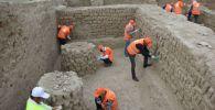 Древняя ханака в городище Культобе