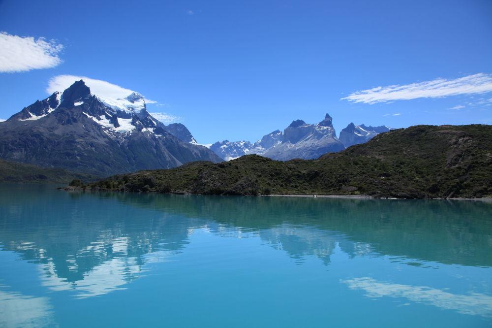 Чилидің Патагониялық Анд аумағындағы Пеоэ көлі