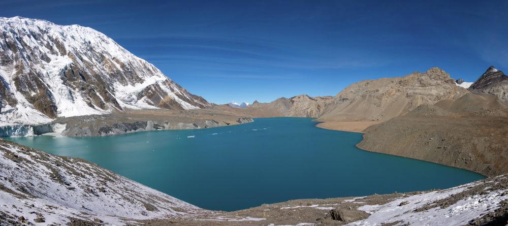 Непалдың таулы аймағындағы Тиличо көлі