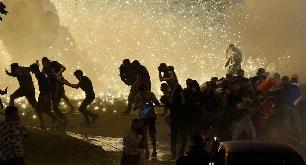 Протесты в Беларуси