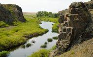 Река Селета в Акмолинской области