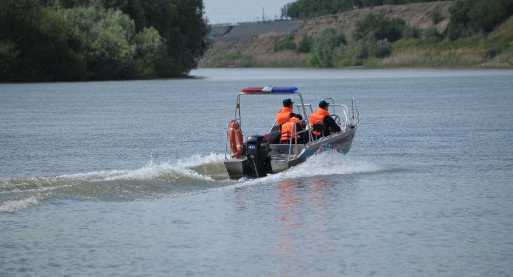 Спасатели на Иртыше