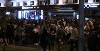 Как выглядели улицы Минска во время протестов - видео